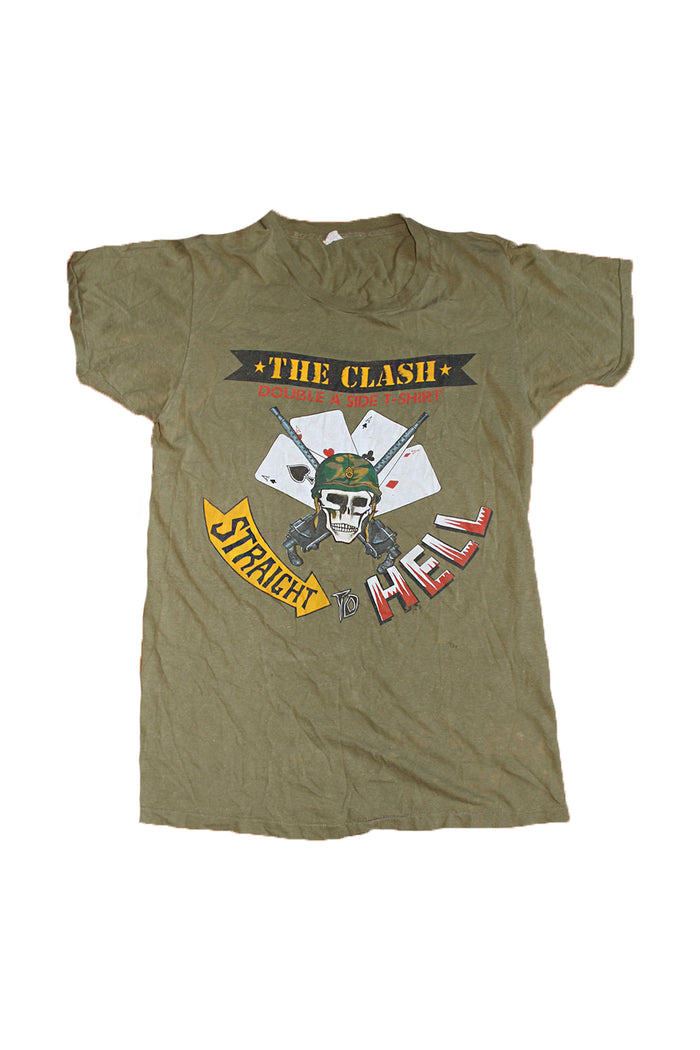 Vintage 80's The Clash Straight To Hell T-Shirt