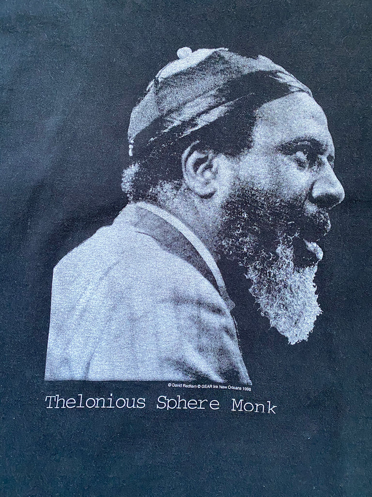 Vintage 90's Thelonious Monk T-Shirt //SOLD///