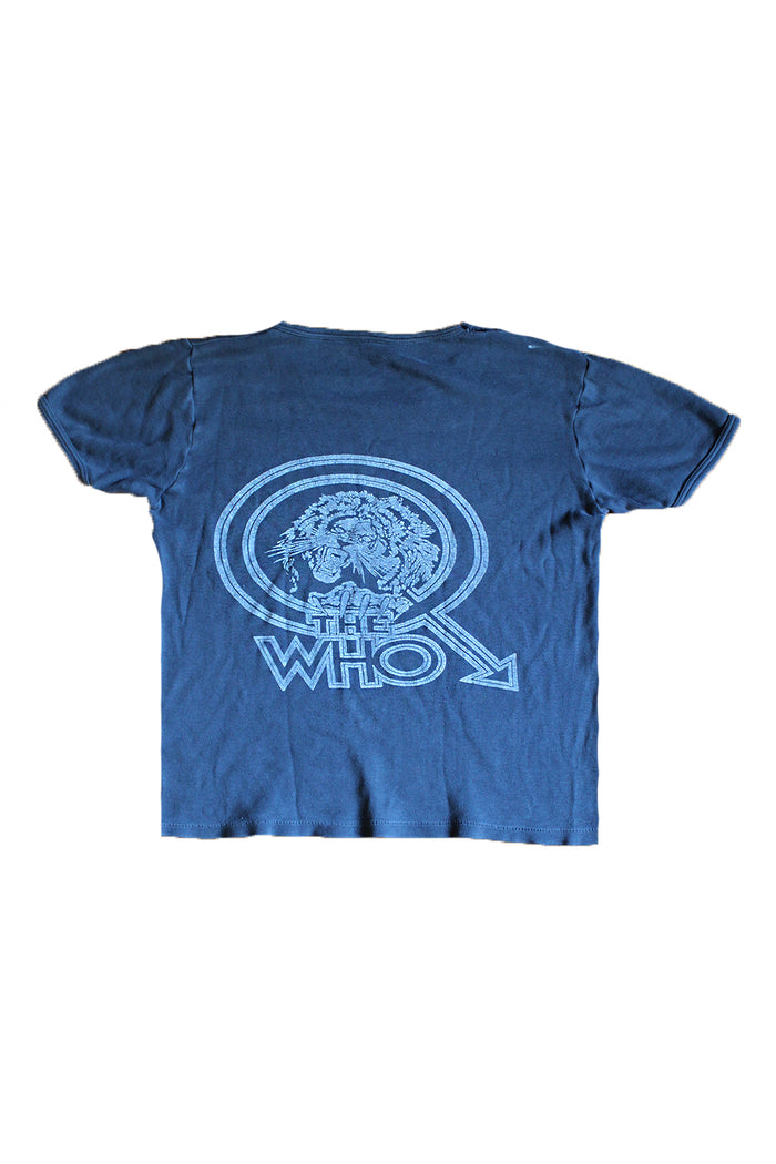 the who 1979 vintage shirt rock concert t-shirt