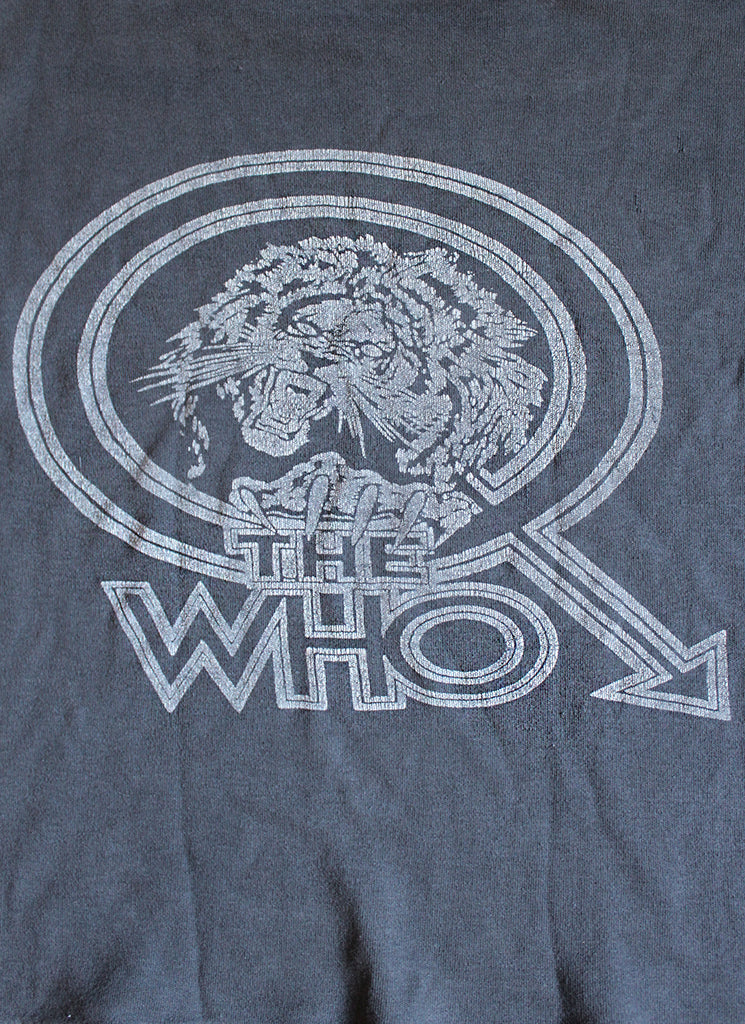 Vintage 70's The Who Cropped T-Shirt