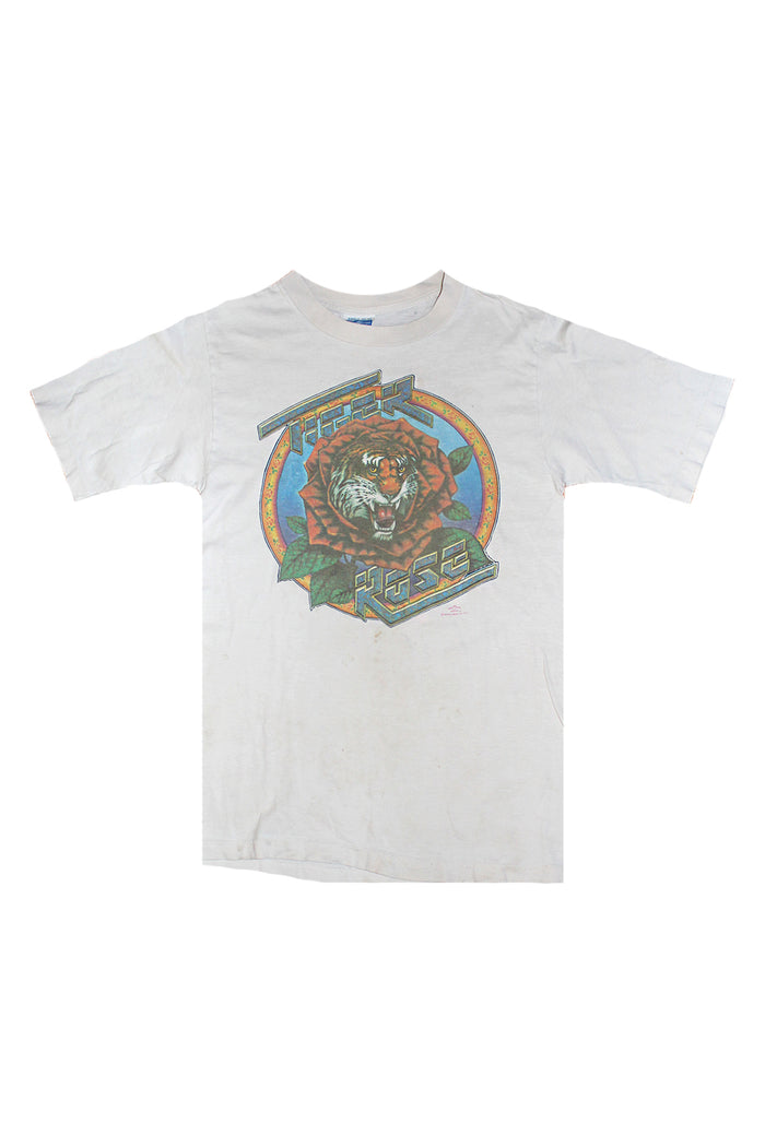 tiger rose grateful dead vintage t-shirt
