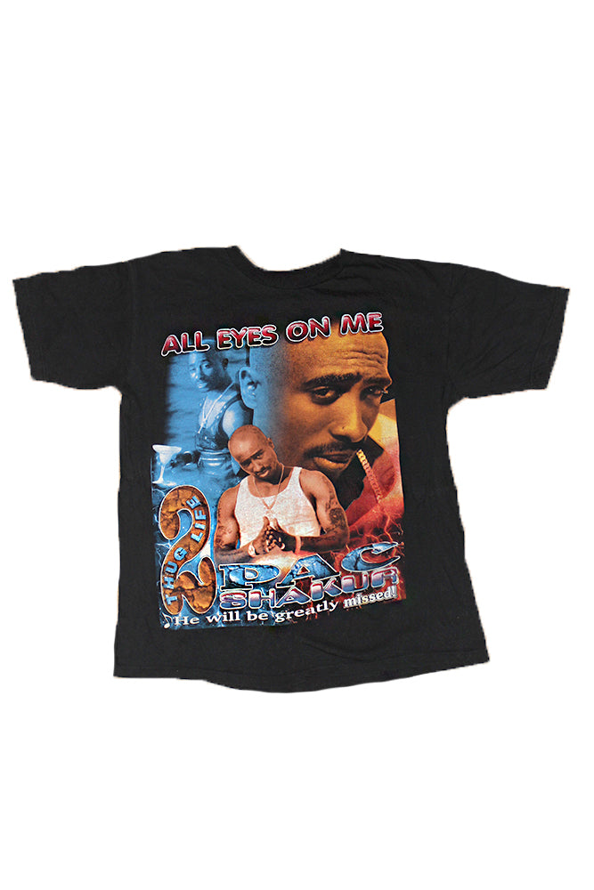 "Vintage 90's Tupac Rap T-Shirt ""All Eyes On Me"" 2pac"