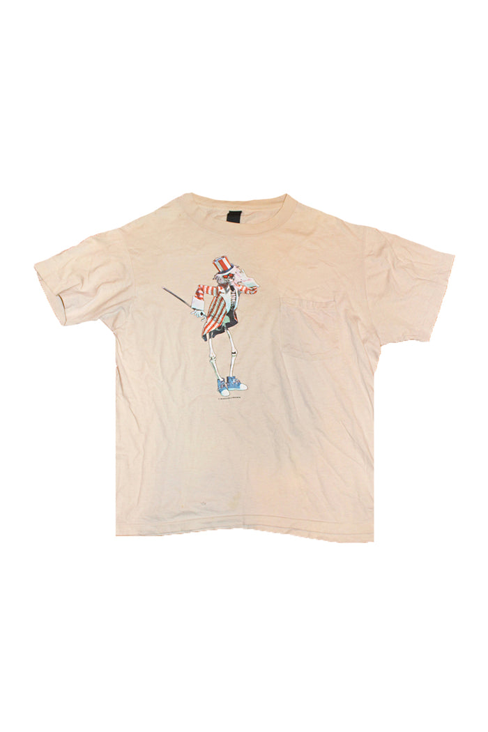 Vintage 80's Grateful Dead Uncle Sam Pocket T-Shirt