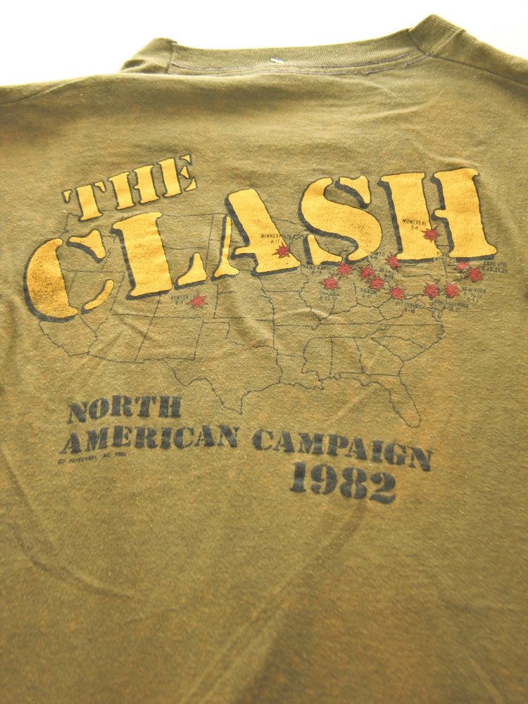 The Clash North American Tour Vintage T-Shirt 1982 //SOLD//