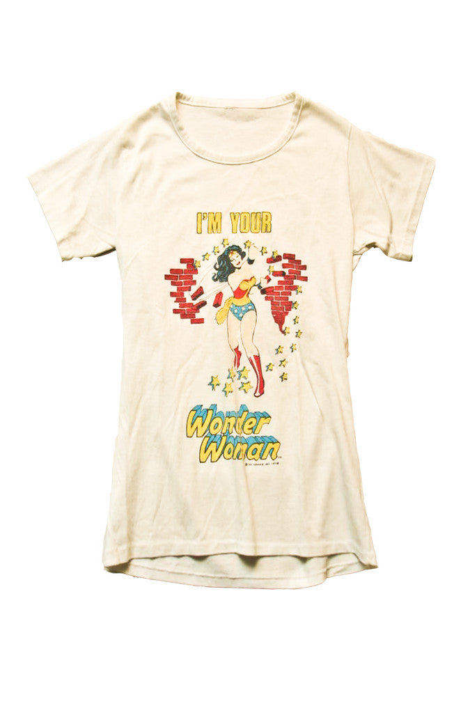 I'm Your Wonder Woman Vintage T-Shirt 1978///SOLD///
