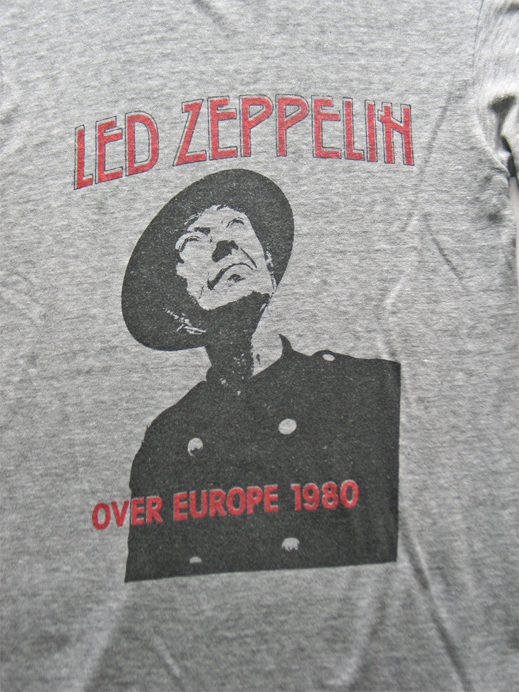 Led Zeppelin Europe Tour Vintage T-Shirt 1980///SOLD///