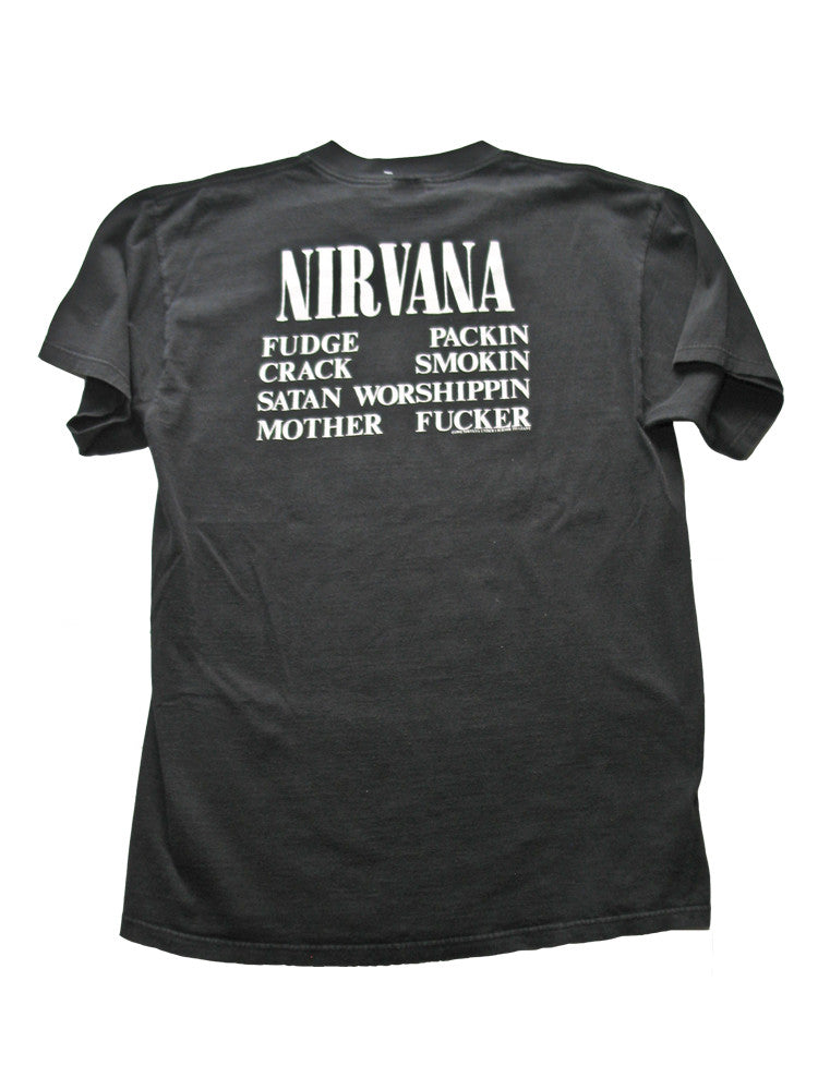 Nirvana T Shirt Mens