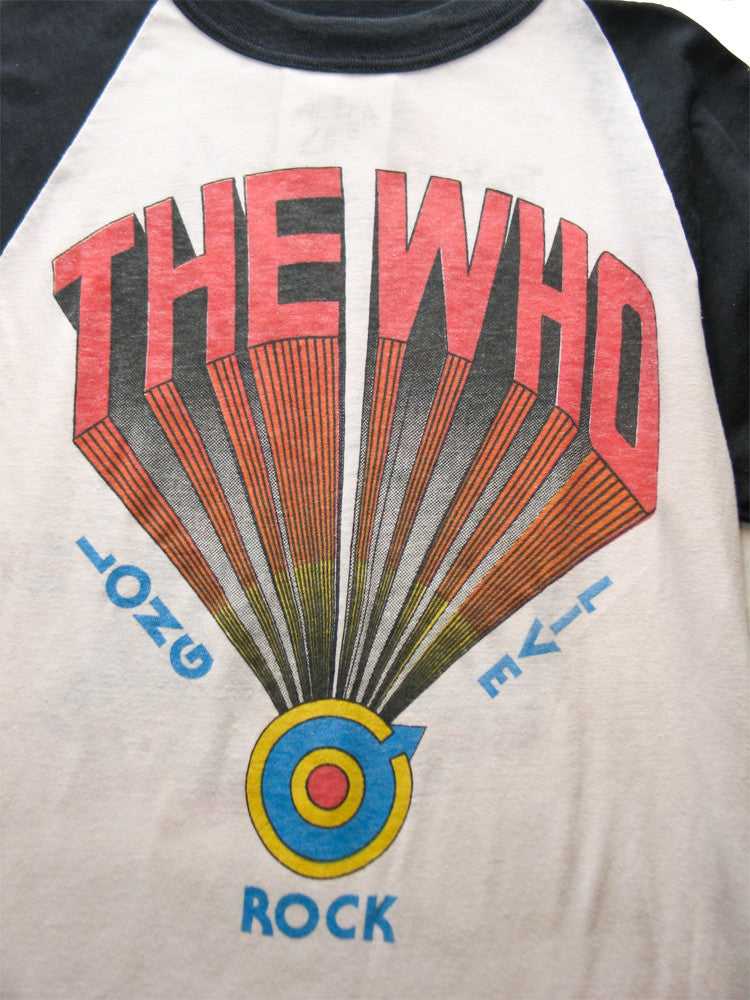 The Who The Kids Are All Right Vintage T-Shirt 1979 ///SOLD///