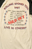 The Rolling Stones Tour Vintage T-Shirt 1981 ///SOLD///