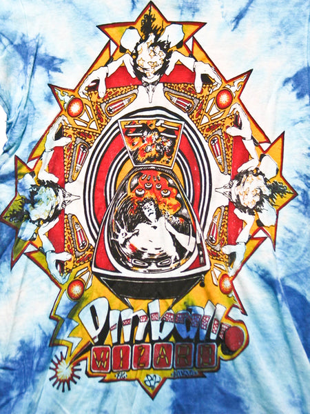 The Who Pinball Wizard Vintage T-shirt 1982