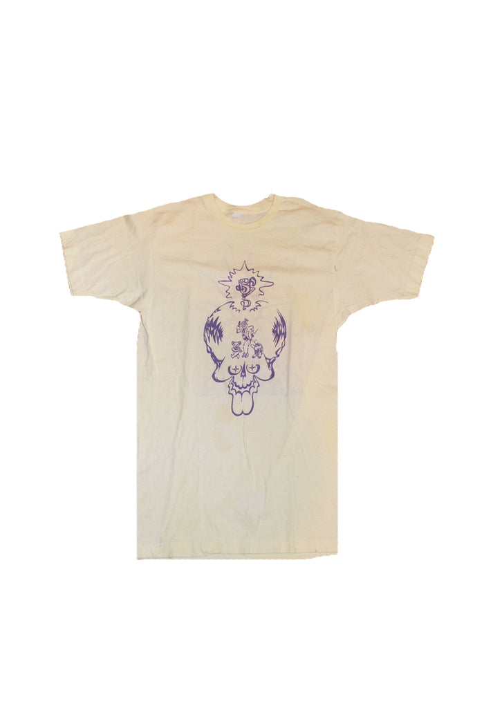 vintage 1980's grateful dead t-shirt art