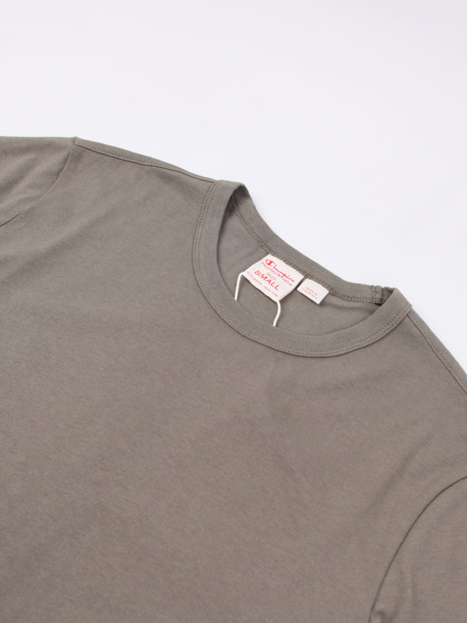 Jersey Crewneck Tee Forest