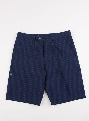Shoenefeld Horizontal Stripe Shorts Blue