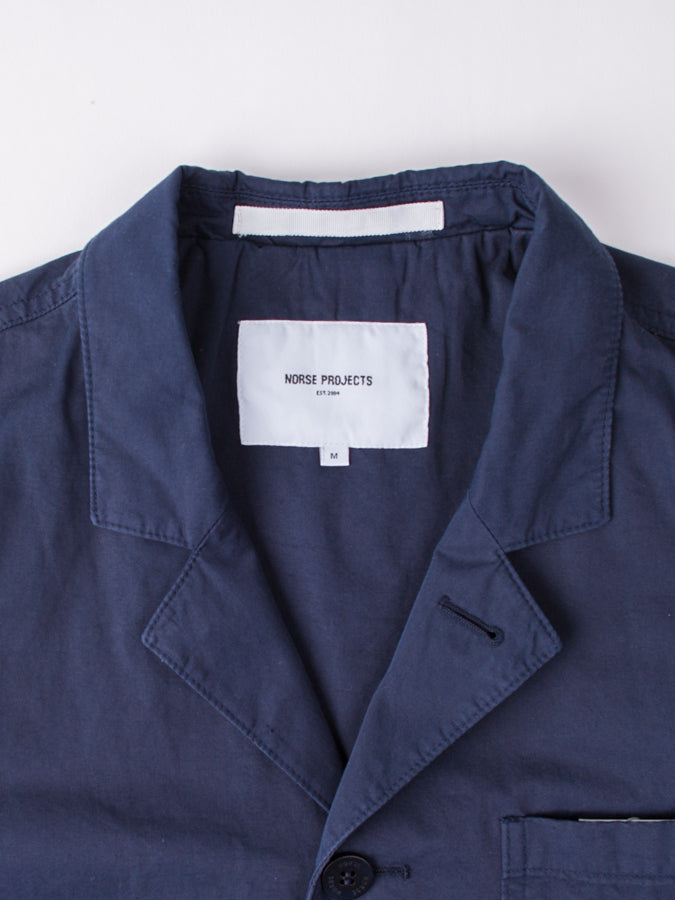 Lars Light Twill Dark Navy