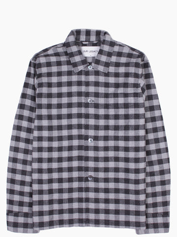 Box Shirt Gingham Flannel