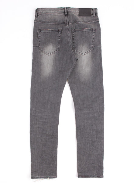 Straight Fit Grey Wash