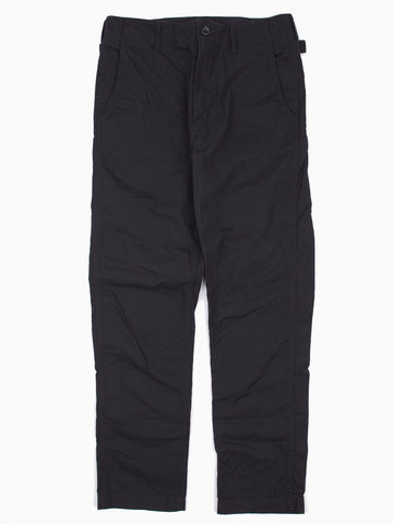Ground Pant Black Cotton Ripstop