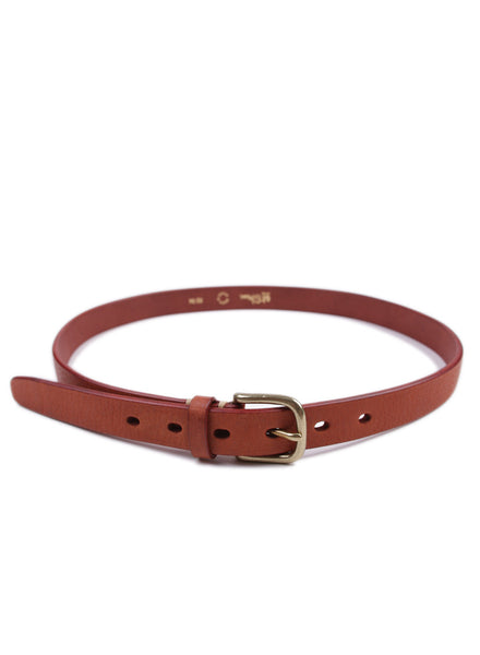 Cow Leather Belt Brown
