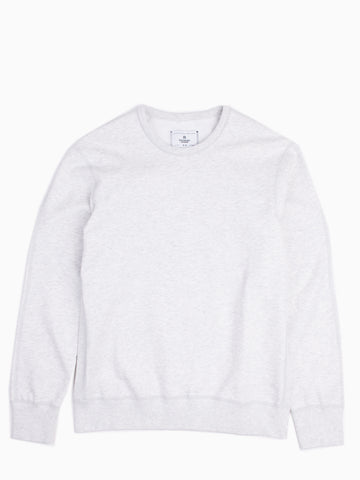 Midweight Terry LS Crewneck Heather Ash