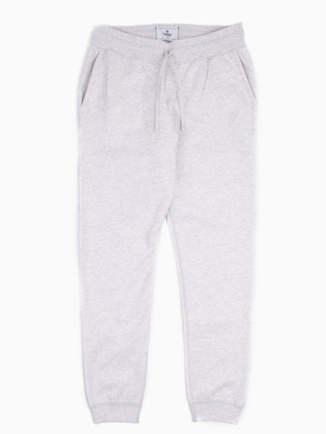Knit Midweight Terry Slim Sweatpant Heather Ash