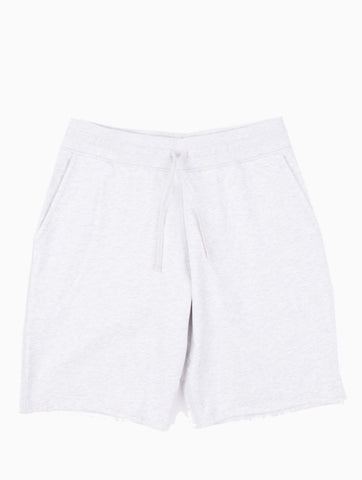 Midweight Terry Sweatshort Heather Ash