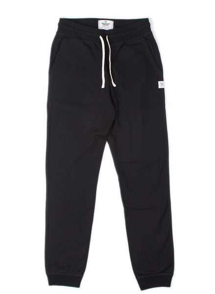 Midweight Slim Sweatpant Black
