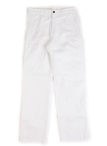 """Green Bootleg"" Dickies White"