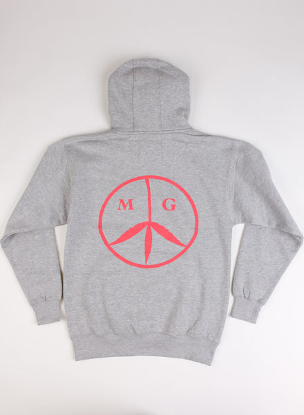 Peace Hoody Heather/Rose