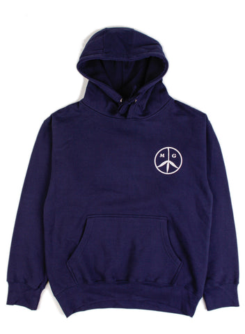 Peace Hoody Navy/Rose