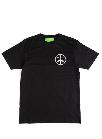 Peace Tee Black/Rose