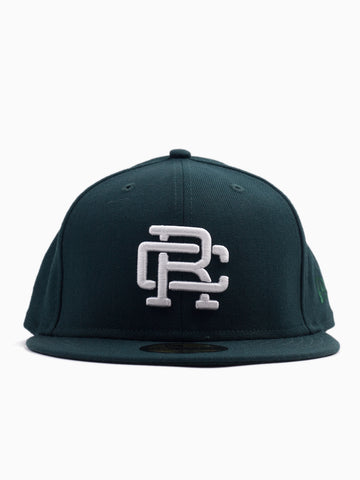 New Era RC Embroidered Hat Court Green/White