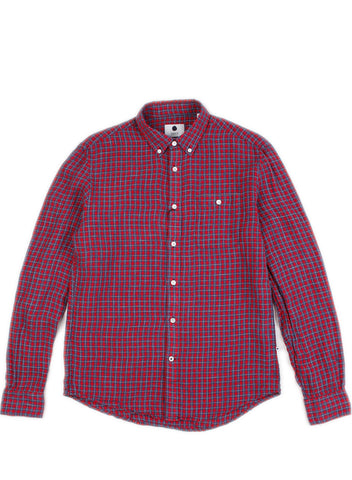 New Derek Red Plaid