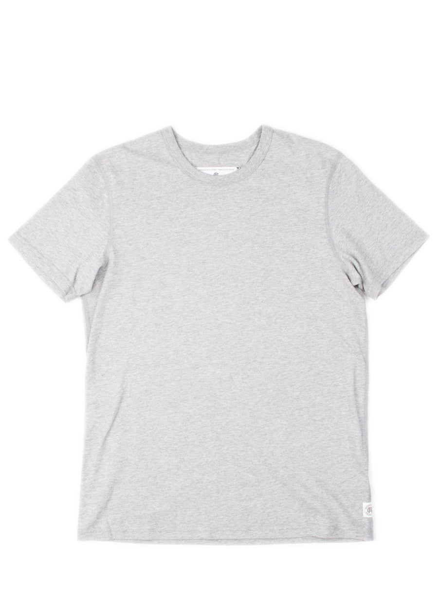 SS Set-In Tee Heather Grey