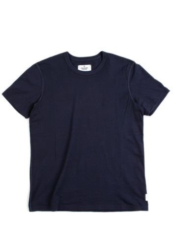 SS Set-In Tee Navy