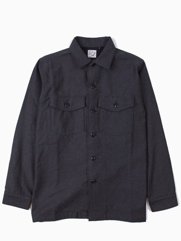 US Army Shirt Charcoal Grey