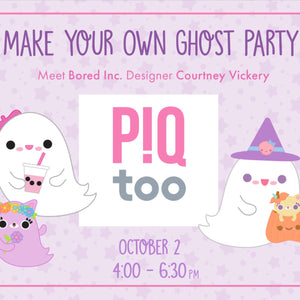 Make Your Own Ghost with Bored Inc Designer at PIQtoo Oct 2