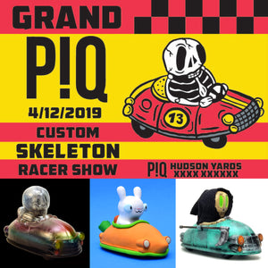 Grand PIQ - Custom Skeleton Racer Show