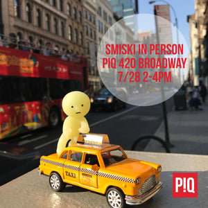 Smiski In Person @ PIQ SoHo Saturday 7/28 2-4pm