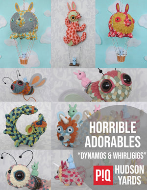 Horrible Adorables New Works Exclusively @ PIQ Hudson Yards