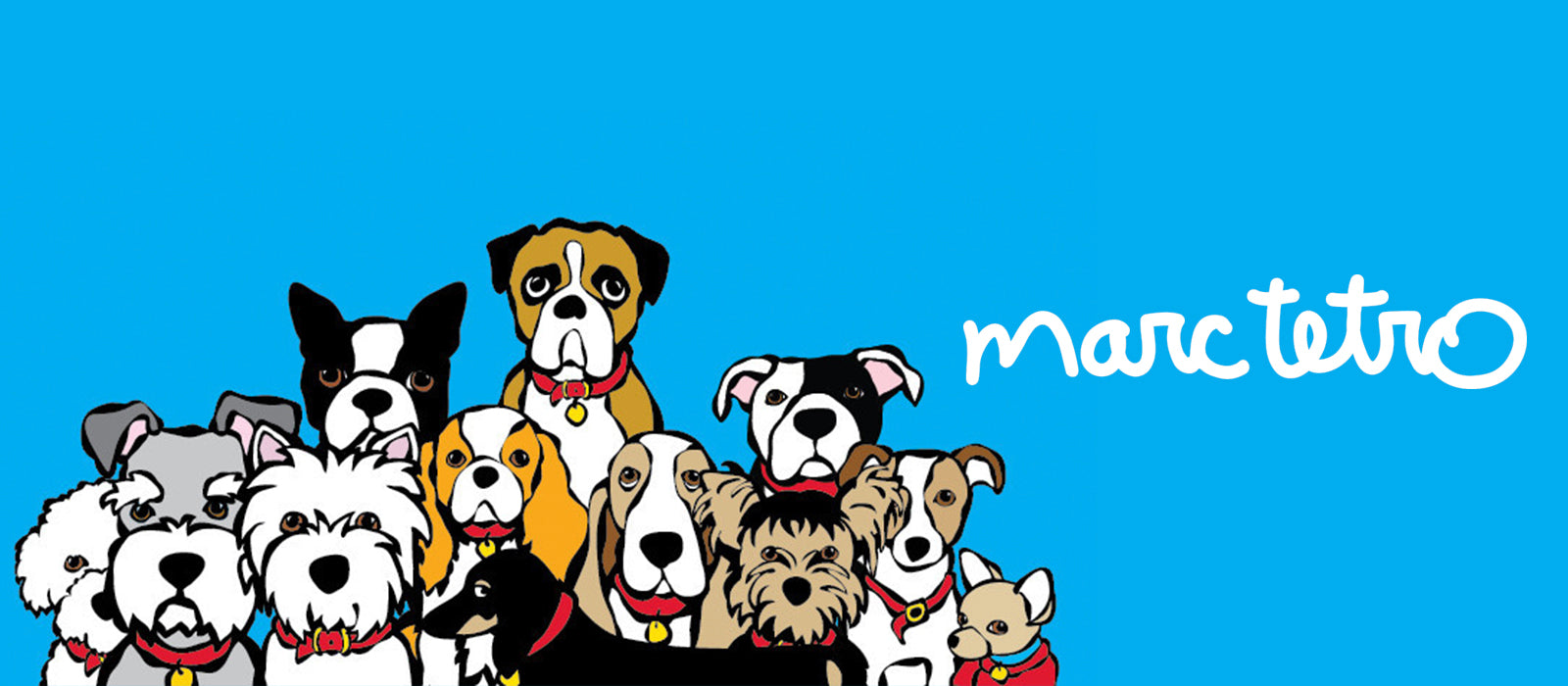 Marc Tetro Shop All, group of dog breeds