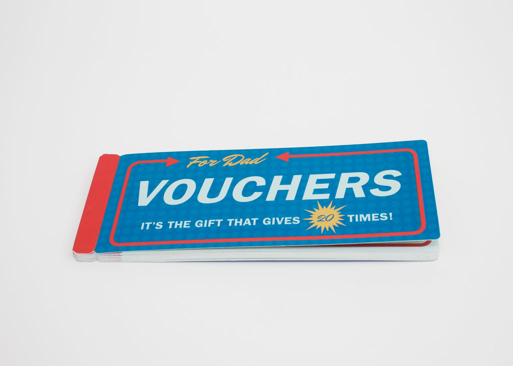 PIQ gifts store new york nyc father's day present funny vouchers dad