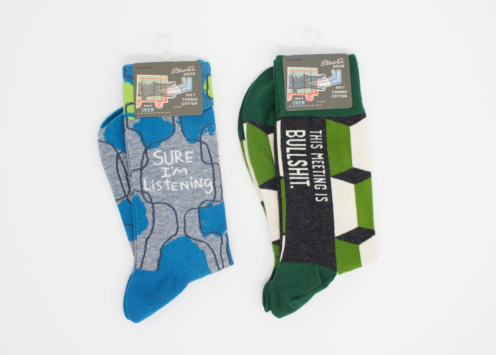 PIQ gifts store new york nyc father's day present funny socks