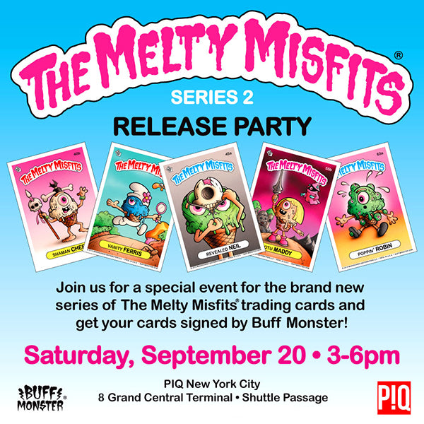 The Melty Misfits Release Party & Signing