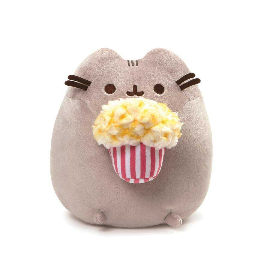 "Pusheen Popcorn 9.5"" Plush"