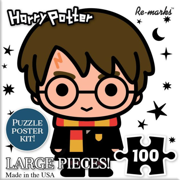 Chibi Harry Potter 100 Piece Puzzle Cube