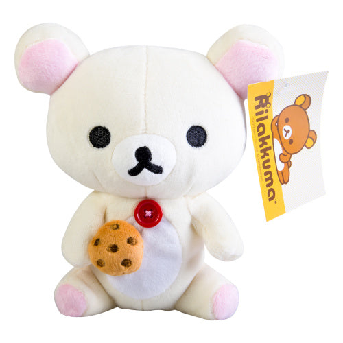 Korilakkuma Eating Biscuit Cookie Plush by San-X