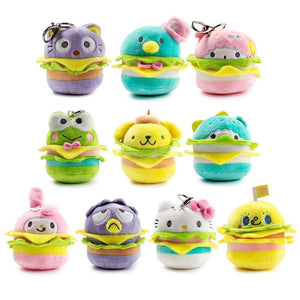 Kidrobot Hello Sanrio Plush Burger Charms Blind Box