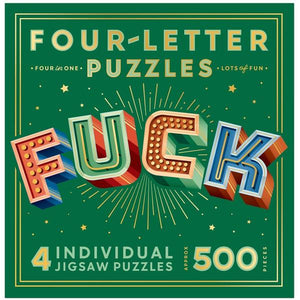 Four Letter Words Puzzle - FUCK