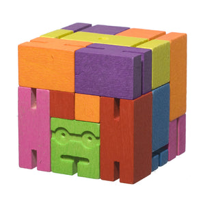 Areaware Cubebot Micro Multicolor Robot