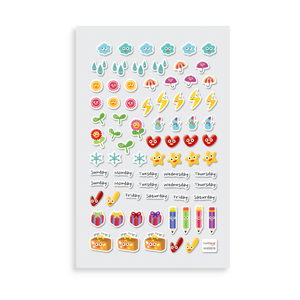 Itsy Bitsy Happy Planner Stickers